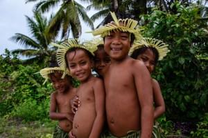Fanning Island (Tabueran) in the Republic of Kiribati, January 2013. Copyright 2013, Corey Sandler  (1565)