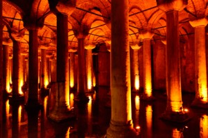 Cisterns of Istanbul. April 2013. Copyright 2013, Corey Sandler (2396)