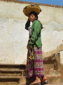 Street vendor in Antigua, Guatemala. Copyright 2013, Corey Sandler