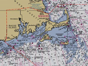 Cape Nautical Chart