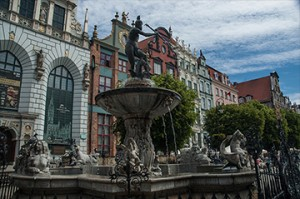 GDANSK Artus Fountain