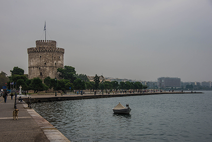 15 October 2014 Thessaloniki, Greece: A City of Ghosts ...
