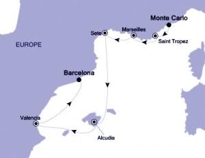 v2527 Voyage Map